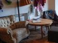 Café-Kunterbunt-Wohnzimmer