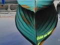 kleines blaues Boot