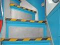 Stairway to restaurant